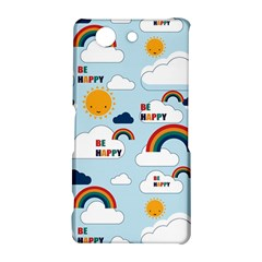 Be Happy Repeat Sony Xperia Z3 Compact Hardshell Case
