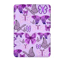 Purple Awareness Butterflies Samsung Galaxy Tab 2 (10 1 ) P5100 Hardshell Case