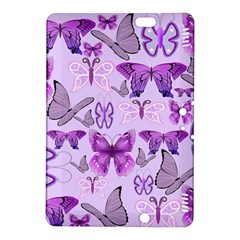 Purple Awareness Butterflies Kindle Fire Hdx 8 9  Hardshell Case