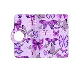 Purple Awareness Butterflies Kindle Fire Hd (2013) Flip 360 Case