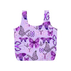 Purple Awareness Butterflies Reusable Bag (s)