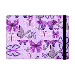 Purple Awareness Butterflies Apple Ipad Mini 2 Flip Case