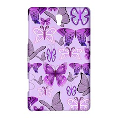 Purple Awareness Butterflies Samsung Galaxy Tab S (8.4 ) Hardshell Case