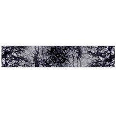 Nature Collage Print  Flano Scarf (Large)