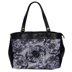 Nature Collage Print  Oversize Office Handbag (two Sides)