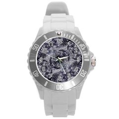 Nature Collage Print  Plastic Sport Watch (large)