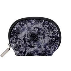 Nature Collage Print  Accessory Pouch (small)