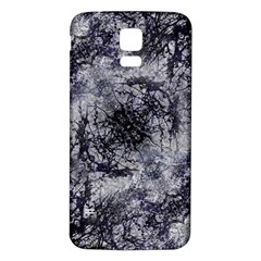 Nature Collage Print  Samsung Galaxy S5 Back Case (White)