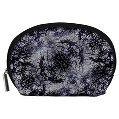 Nature Collage Print  Accessory Pouch (Large)