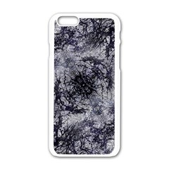 Nature Collage Print  Apple iPhone 6 White Enamel Case
