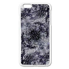Nature Collage Print  Apple iPhone 6 Plus Enamel White Case