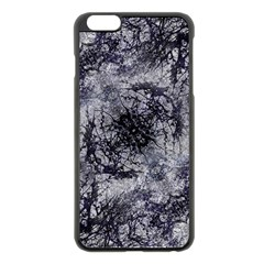 Nature Collage Print  Apple iPhone 6 Plus Black Enamel Case