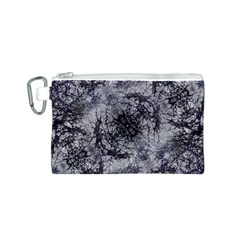 Nature Collage Print  Canvas Cosmetic Bag (Small)