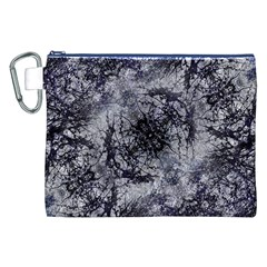 Nature Collage Print  Canvas Cosmetic Bag (XXL)