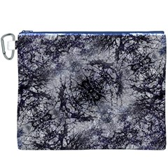 Nature Collage Print  Canvas Cosmetic Bag (XXXL)