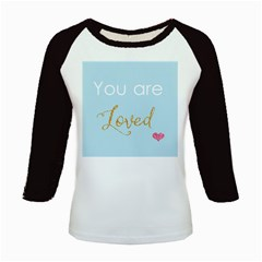 You Are Loved Kids Baseball Jersey