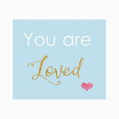 You Are Loved Canvas 20  X 30