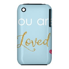 You Are Loved Apple Iphone 3g/3gs Hardshell Case (pc+silicone)