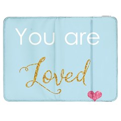 You Are Loved Samsung Galaxy Tab 7  P1000 Flip Case