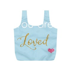 You are Loved Full Print Recycle Bag (S)