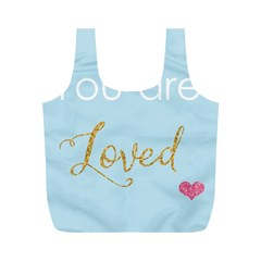 You Are Loved Full Print Recycle Bag (m)