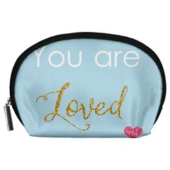 You are Loved Accessory Pouch (Large)