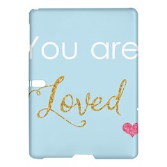 You Are Loved Samsung Galaxy Tab S (10 5 ) Hardshell Case