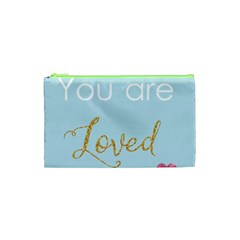 You are Loved Cosmetic Bag (XS)