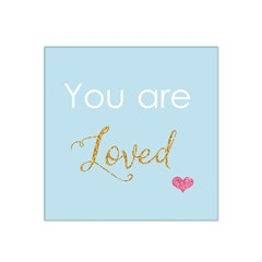 You are Loved Satin Bandana Scarf