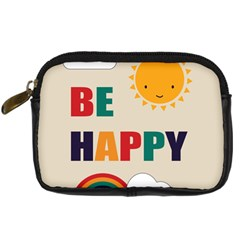 Be Happy Digital Camera Leather Case