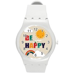 Be Happy Plastic Sport Watch (medium)
