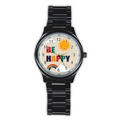 Be Happy Sport Metal Watch (black)