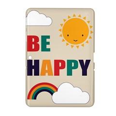 Be Happy Samsung Galaxy Tab 2 (10.1 ) P5100 Hardshell Case