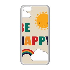 Be Happy Apple Iphone 5c Seamless Case (white)