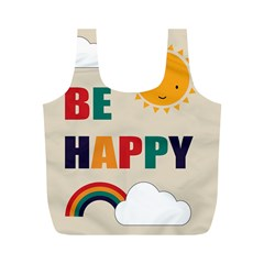 Be Happy Reusable Bag (M)