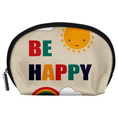 Be Happy Accessory Pouch (large)