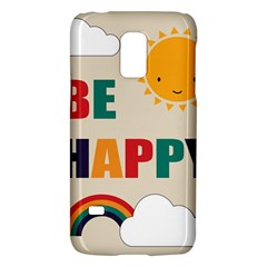 Be Happy Samsung Galaxy S5 Mini Hardshell Case