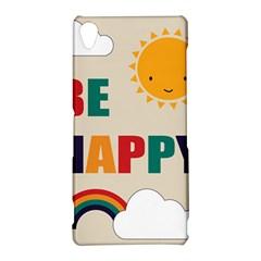 Be Happy Sony Xperia Z3 Hardshell Case