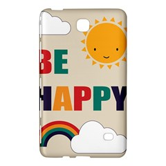Be Happy Samsung Galaxy Tab 4 (7 ) Hardshell Case