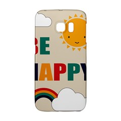 Be Happy Samsung Galaxy S6 Edge Hardshell Case