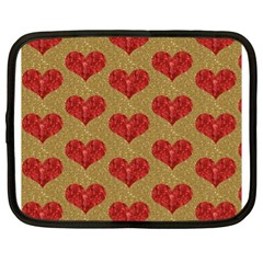 Sparkle Heart  Netbook Sleeve (xl)