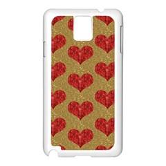Sparkle Heart  Samsung Galaxy Note 3 N9005 Case (white)