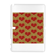 Sparkle Heart  Samsung Galaxy Note 10.1 (P600) Hardshell Case