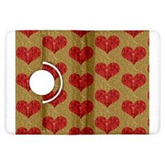 Sparkle Heart  Kindle Fire HDX Flip 360 Case