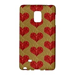 Sparkle Heart  Samsung Galaxy Note Edge Hardshell Case