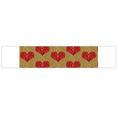 Sparkle Heart  Flano Scarf (large)