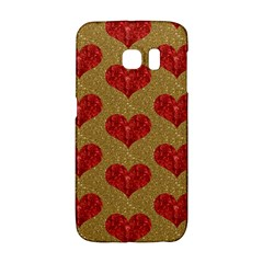 Sparkle Heart  Samsung Galaxy S6 Edge Hardshell Case