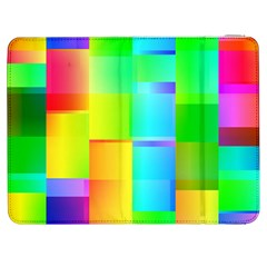 Colorful gradient shapes Samsung Galaxy Tab 7  P1000 Flip Case