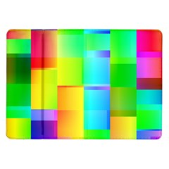 Colorful Gradient Shapes Samsung Galaxy Tab 10 1  P7500 Flip Case