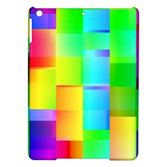 Colorful gradient shapes Apple iPad Air Hardshell Case